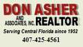 Don Asher & Associates, Inc Realtor, Orlando FL