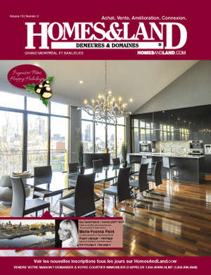 HOMES & LAND Magazine Cover. Vol. 10, Issue 02, Page 4.