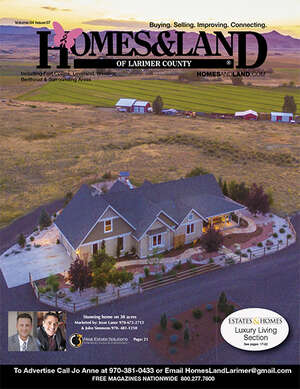 HOMES & LAND Magazine Cover. Vol. 30, Issue 13, Page 22.