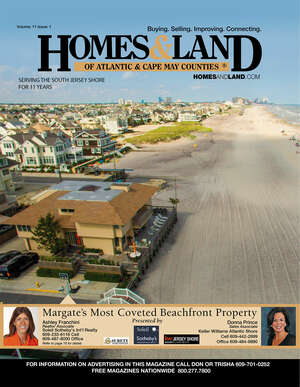 HOMES & LAND Magazine Cover. Vol. 11, Issue 01, Page 16.