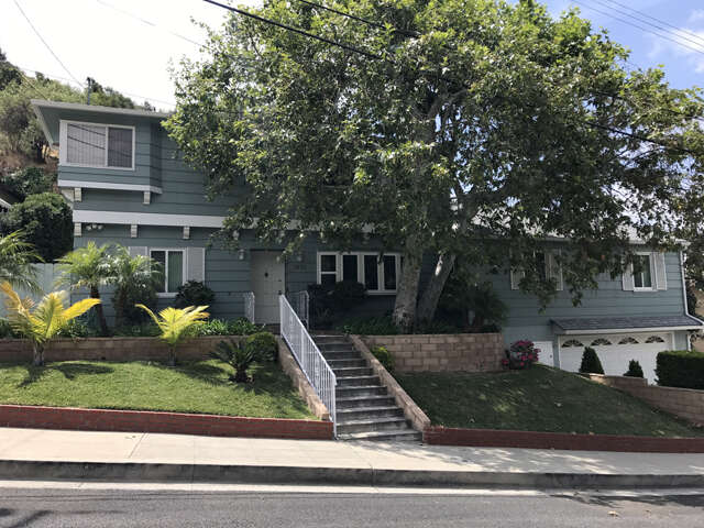 Single Family for Sale at 1832 Bara Road Glendale, California 91208 United States