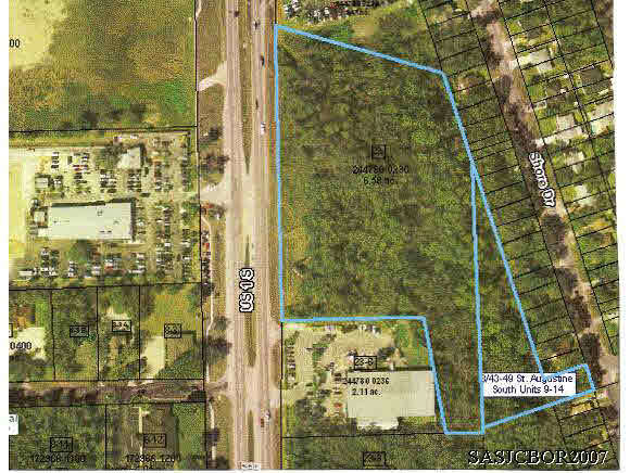 Land for Sale at 2940 Us 1 South St. Augustine, Florida 32086 United States