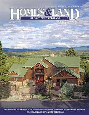 HOMES & LAND Magazine Cover. Vol. 22, Issue 06, Page 7.