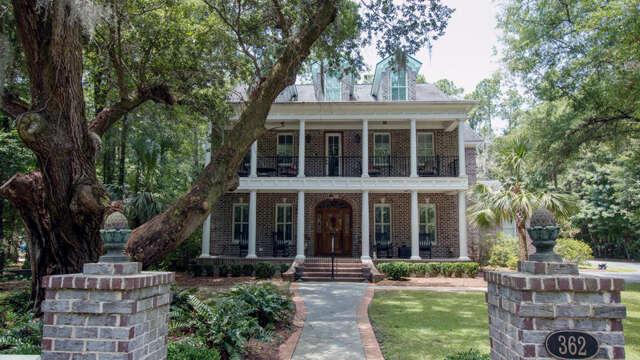 Single Family for Sale at 362 Beresford Woods Lane Charleston, South Carolina 29492 United States
