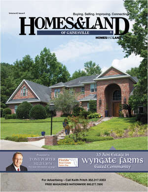 HOMES & LAND Magazine Cover. Vol. 42, Issue 09, Page 3.