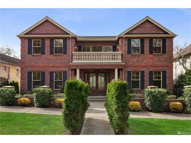 Single Family for Sale at 819 33rd Ave Seattle, Washington 98112 United States