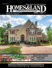 HOMES & LAND Magazine Cover. Vol. 21, Issue 04, Page 4.
