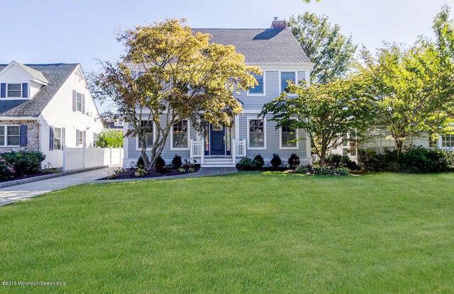 Single Family for Sale at 308 Washington Boulevard Sea Girt, New Jersey 08750 United States