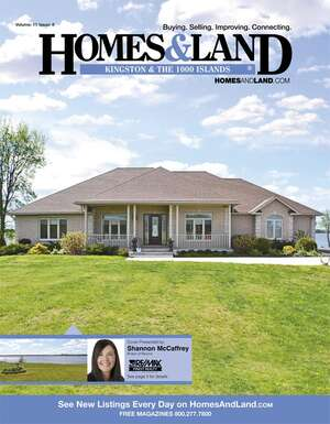 HOMES & LAND Magazine Cover. Vol. 11, Issue 08, Page 5.