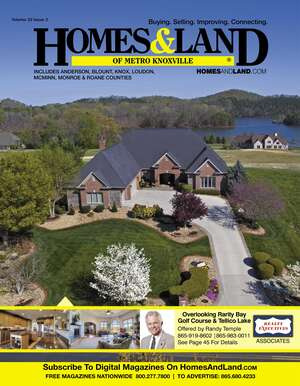 HOMES & LAND Magazine Cover. Vol. 22, Issue 02, Page 45.