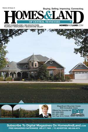 HOMES & LAND Magazine Cover. Vol. 22, Issue 06, Page 38.