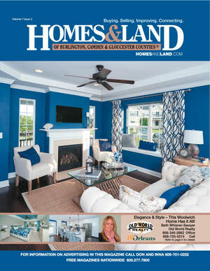HOMES & LAND Magazine Cover. Vol. 07, Issue 02, Page 25.
