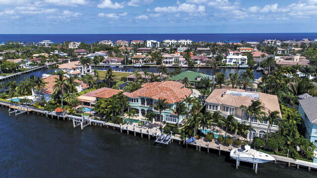 Single Family for Sale at 4216 Intracoastal Drive Highland Beach, Florida 33487 United States