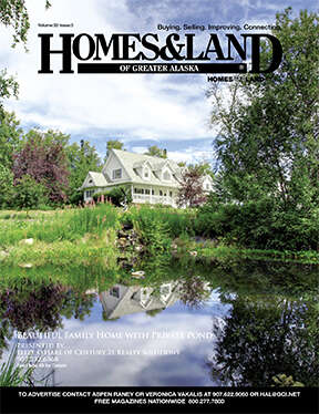 HOMES & LAND Magazine Cover. Vol. 32, Issue 03, Page 49.