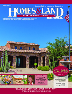 HOMES & LAND Magazine Cover. Vol. 22, Issue 08, Page 10.