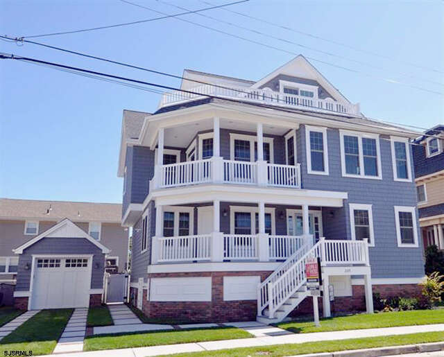 Single Family for Sale at 209 N. 33rd Avenue Longport, New Jersey 08403 United States