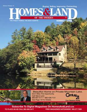 HOMES & LAND Magazine Cover. Vol. 33, Issue 13, Page 16.