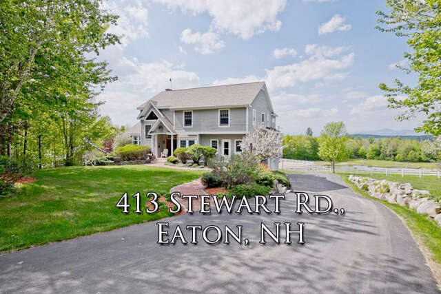 Single Family for Sale at 413 Stewart Road Eaton, New Hampshire 03832 United States