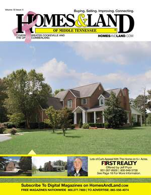 HOMES & LAND Magazine Cover. Vol. 32, Issue 05, Page 18.