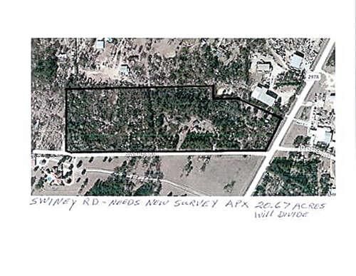 Land for Sale at 29615 Fm 2978 @ Swiney Magnolia, Texas 77354 United States