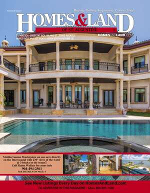 HOMES & LAND Magazine Cover. Vol. 38, Issue 07, Page 4.