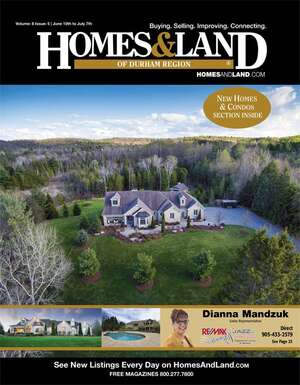 HOMES & LAND Magazine Cover. Vol. 08, Issue 05, Page 25.