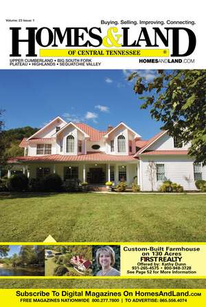 HOMES & LAND Magazine Cover. Vol. 33, Issue 01, Page 12.
