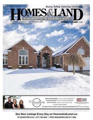 HOMES & LAND Magazine Cover. Vol. 12, Issue 05, Page 29.