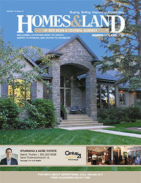 HOMES & LAND Magazine Cover. Vol. 10, Issue 04, Page 5.