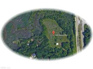 Land for Sale, ListingId:39548769, location: 15683 WARWICK BLVD Newport News 23608