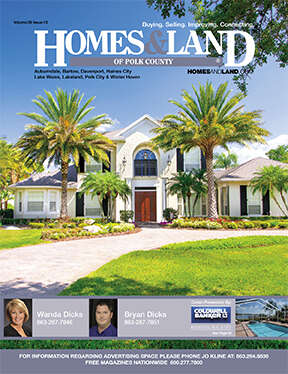 HOMES & LAND Magazine Cover. Vol. 39, Issue 13, Page 40.