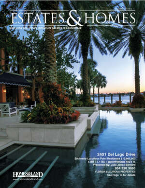 HOMES & LAND Magazine Cover. Vol. 12, Issue 11, Page 13.