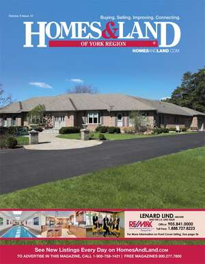 HOMES & LAND Magazine Cover. Vol. 09, Issue 11, Page 33.