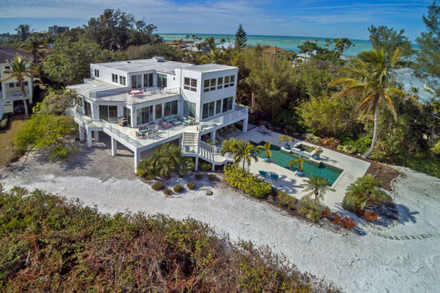 Single Family for Sale at 111 Ocean Place Sarasota, Florida 34242 United States