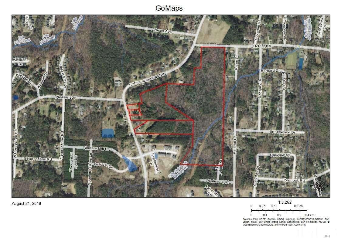 Land for Sale at 3712 Holder Road Durham, North Carolina 27703 United States