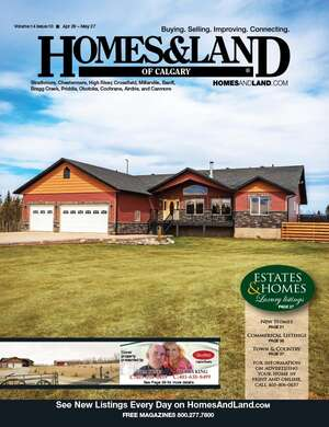 HOMES & LAND Magazine Cover. Vol. 14, Issue 10, Page 39.