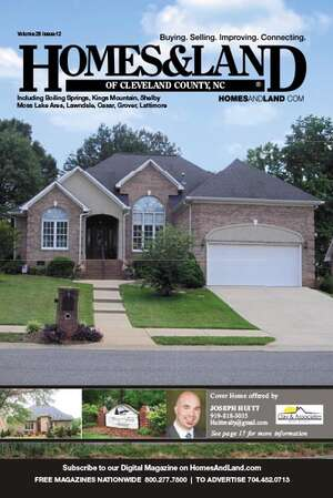HOMES & LAND Magazine Cover. Vol. 28, Issue 10, Page 16.
