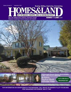 HOMES & LAND Magazine Cover. Vol. 40, Issue 10, Page 20.