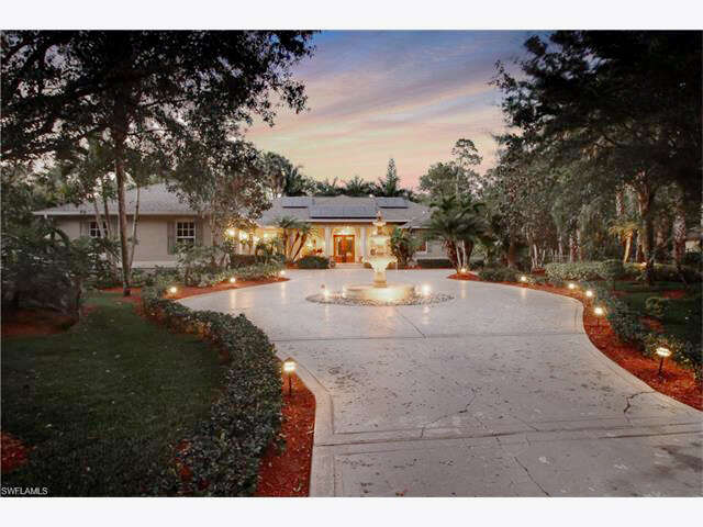 Single Family for Sale at 5385 Palmetto Woods Dr Naples, Florida 34119 United States