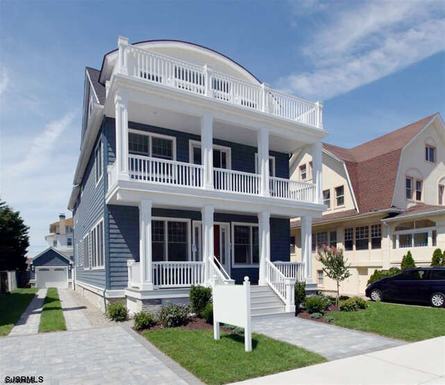 Single Family for Sale at 108 S Surrey Ave Ventnor, New Jersey 08406 United States
