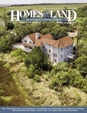 HOMES & LAND Magazine Cover. Vol. 19, Issue 08, Page 001.
