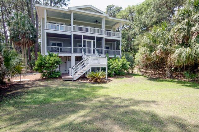 Single Family for Sale at 538 Remora Drive Fripp Island, South Carolina 29920 United States