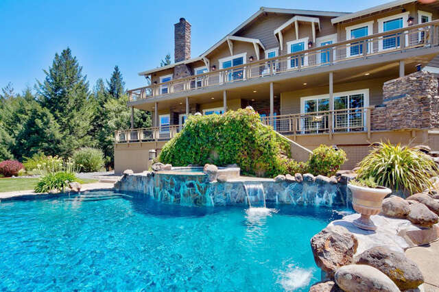 Single Family for Sale at 480 Fircrest Drive Ukiah, California 95482 United States