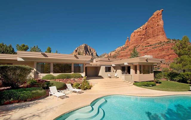 Single Family for Sale at 123 Ficticous Lane Sedona, Arizona 86336 United States