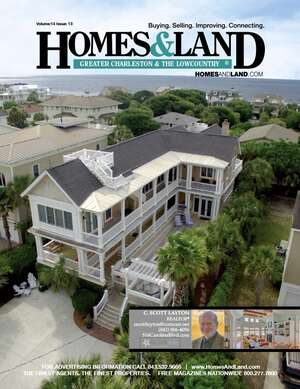 HOMES & LAND Magazine Cover. Vol. 14, Issue 13, Page 7.