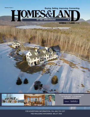 HOMES & LAND Magazine Cover. Vol. 09, Issue 01, Page 7.