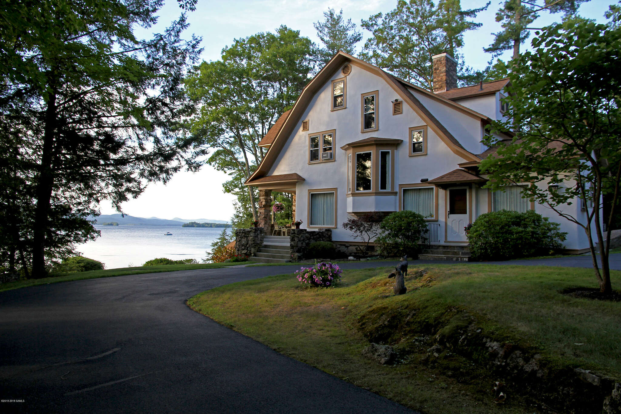 Single Family for Sale at 3222 Ny-9l Lake George, New York 12845 United States