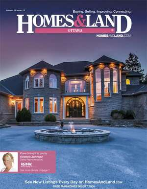 HOMES & LAND Magazine Cover. Vol. 16, Issue 13, Page 7.