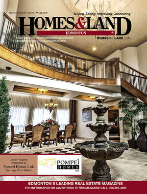 HOMES & LAND Magazine Cover. Vol. 16, Issue 01, Page 27.