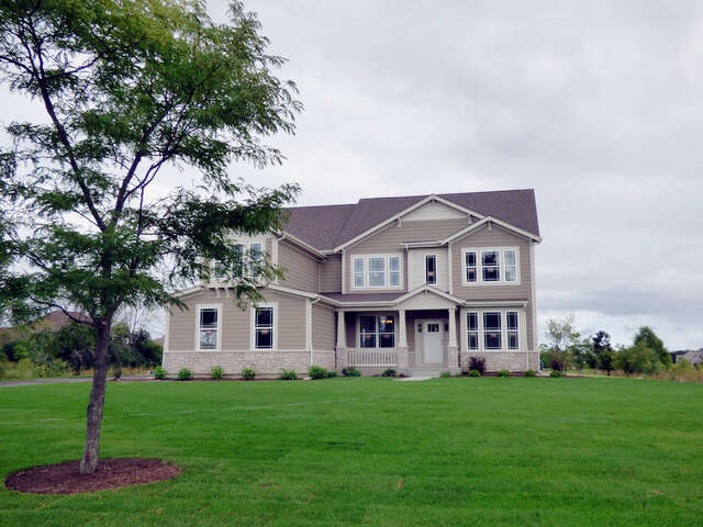 Single Family for Sale at 7 West Peter Lot 16 Lane Hawthorn Woods, Illinois 60047 United States